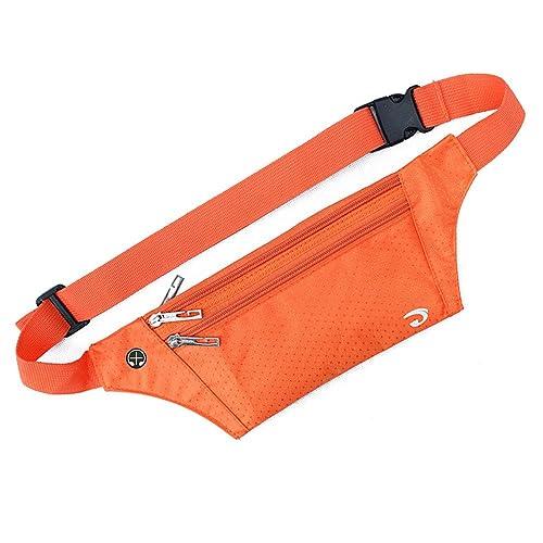 Naoki Outdoor Climbing Cycling Camping Travel Polyester Ultra-thin Waist Pack Mobile Phone Bag Runner Belt