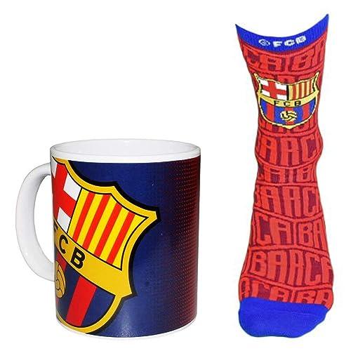 Barcelona Mug /& Socks Set 2 Pieces