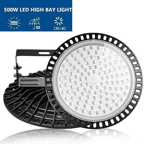 5000K Daylight White Details about  /GRANDLUMEN 240W UFO LED High Bay Light ETL Certified ...