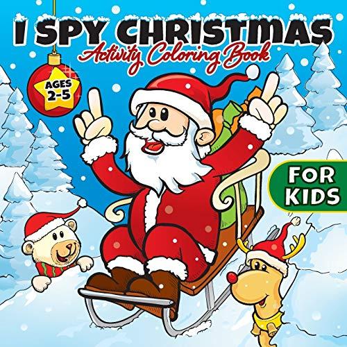 Childrens My Christmas colouring activity book stocking filler boys girls UK