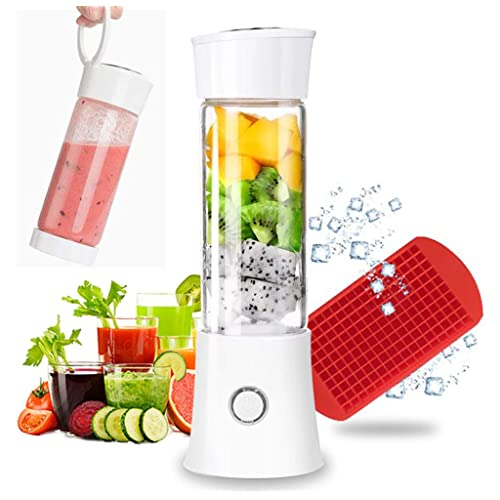 Picnic Usb Rechargeable Small Protein Travel Blenders with Six Blades in 3D Office and School 4000mah Batteries and 12.86oz Fruit Mixing Juicer Cup at Hom Olivivi 2020 Mini Cordless Personal Blender for Shakes and Smoothies Portable Blender