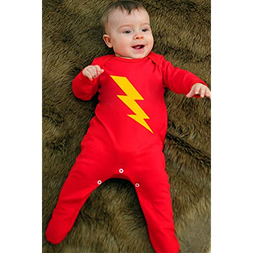 New The Flash Infant Costume 6-12 Months
