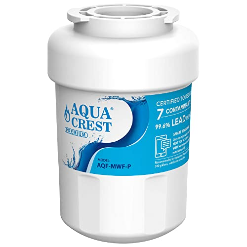 GSE25GSHECSS SmartWater 197D6321P006 WFC1201 MWFP Compatible with GE MWF AQUACREST MWF NSF 53/&42 Certified Refrigerator Water Filter GWF PC75009 RWF1060 MWFA HDX FMG-1