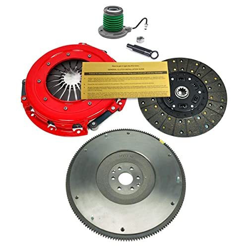 EFT HD CLUTCH PRO-KIT-SLAVE-FLYWHEEL FOR 2005-2010 FORD MUSTANG GT SHELBY GT 4.6L