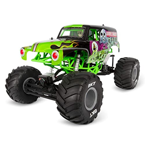 Buy Axial 110 SMT10 Grave Digger 4WD Monster Truck RTR ...
