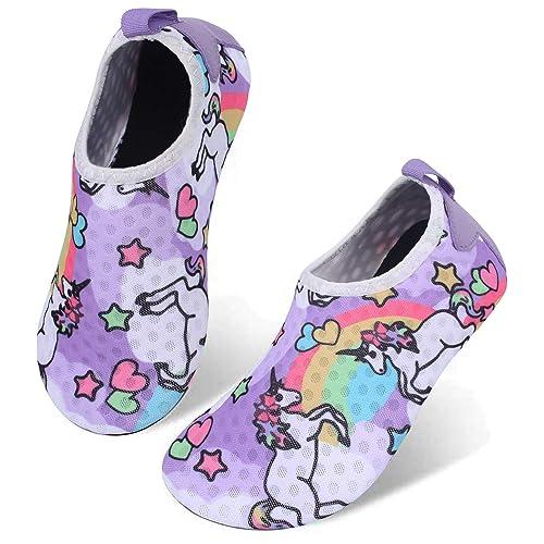 Centipede Demon Water Shoes for Girls Boys Kids Quick Dry Barefoot Outdoor Aqua Socks for Sport Beach Swim Surf 2.5-3.5 Little Kid