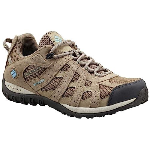 Columbia Women/'s Redmond Waterproof Low Hiking Shoe Advanced Traction Technology