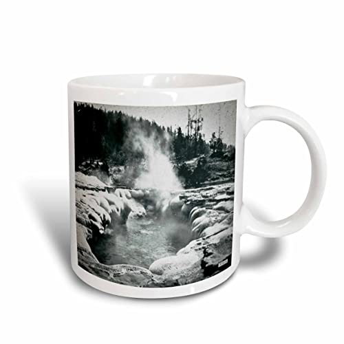 Buy 3drose Vintage Yellowstone National Park Geysers Victor Animatograph Co 6 Two Tone Red Mug 11 Oz Multicolor Online In Bahrain B01jk4dsl4