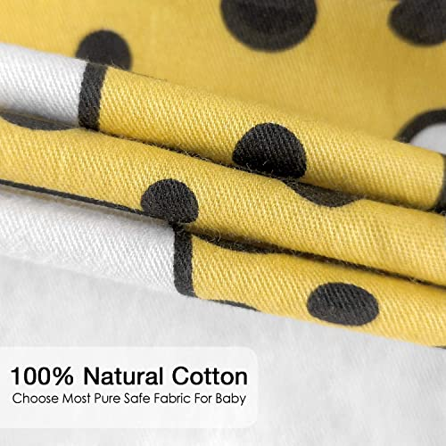 TILLYOU Ultra Soft Animals Crib Sheets Fitted Elephant Lions Giraffe Prints 28x 52 Animals Party White 100/% Egyptian Cotton Toddler Sheets for Baby Boys Girls Breathable Hypoallergenic Comfy