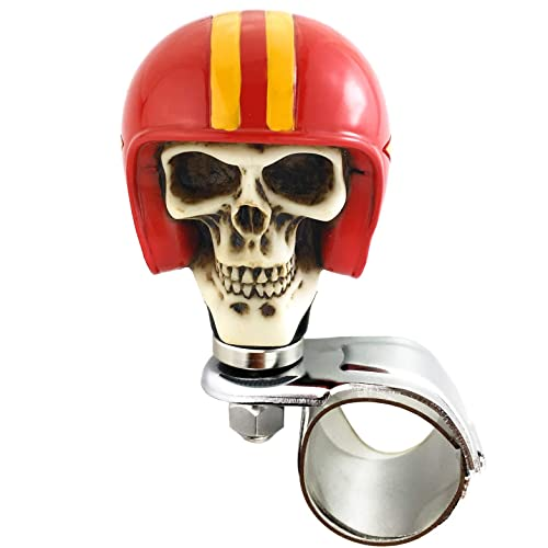 Arenbel Auto Skull Suicide Knob Soldier Style Steering Wheel ...