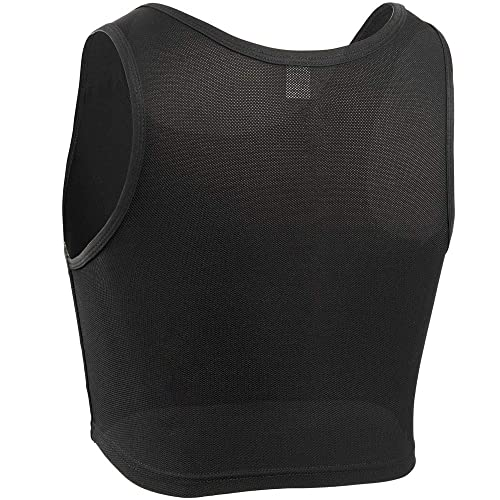XUJI Women Tomboy FTM Elastic Breathable Half Chest Binder
