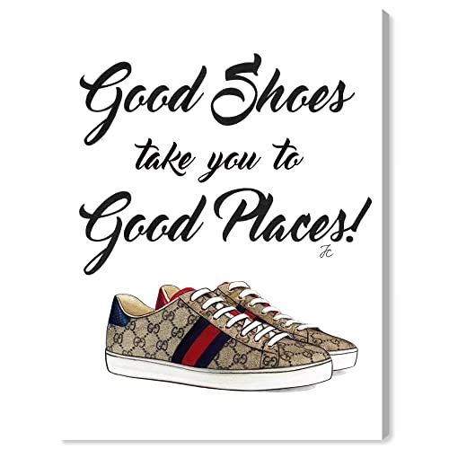 Buy The Oliver Gal Artist Co Fashion And Glam Wall Art Canvas Prints Doll Memories Unique Fab Shoes Home Décor 18 X 24 Brown White Online In Bahrain B07qrzpt7k