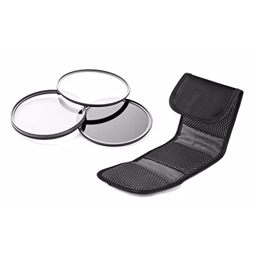 Nw Direct Microfiber Cleaning Cloth. Made by Optics 3 Piece Lens Filter Kit 82mm Canon EOS 5D Mark IV High Grade Multi-Coated Multi-Threaded