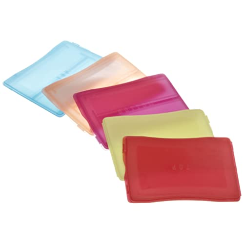 Pack of 25 2 Place Heathrow Scientific HD15983A Polypropylene Slide Mailer 3 Length x 1 Width Assorted Colors