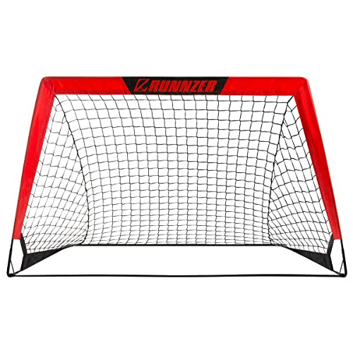 6 Cones for Kids /& Adults DRB Pro Foldable Pop Up Soccer Goal2 Net with Case