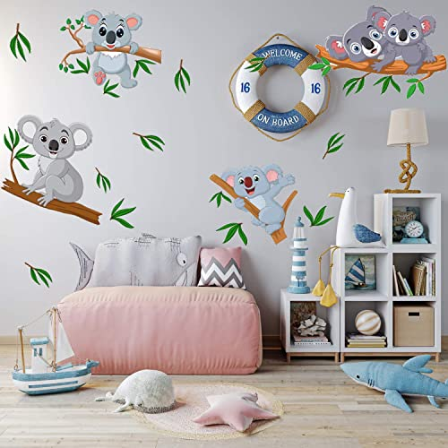 Koalas Wall Sticker By Bdecoll 3