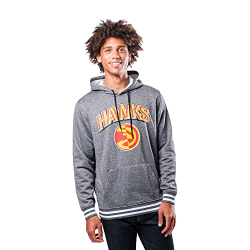 Ultra Game Mens Focused Pullover Fleece Hoodie Sweatshirt