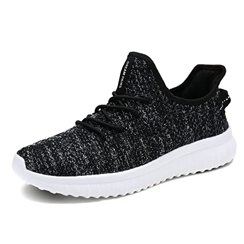 DREAM PAIRS Mens Slip on Mesh Sneakers Lightweight Breathable Athletic Running Walking Shoes