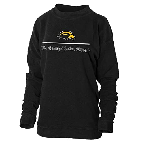 Official NCAA University of Southern Mississippi Golden Eagles Southern Miss Womens Long Sleeve Spirit Wear Jersey T-Shirt.