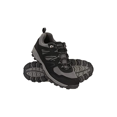 Breathable Hiking Shoes Mesh Lining Running Shoes for Travelling Mountain Warehouse McLeod Mens Shoes Durable Walking Shoes Camping Lightweight All Season Shoes