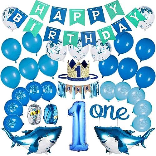 Buy Btsd Home 1st Birthday Boy Decorations Baby Boy 1st Birthday Party Supplies With 1st Birthday Baby Crown 1st Birthday Highchair Banner Online In Bahrain B07ykdky4d