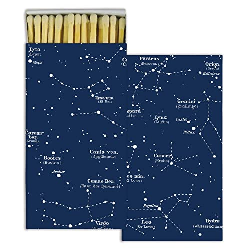 HomArt Large Decorative Constellations Matches