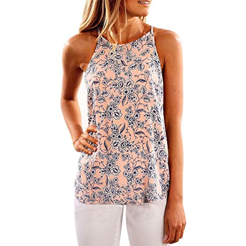 KYLEON Women Tank Tops Sleeveless Dog Print Loose Girls Cute Casual Summer Tunic Blouse Camis Vest T Shirts for Women