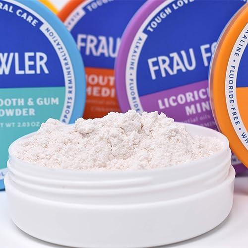 Buy Frau Fowler MOUTH MEDIC Tooth Powder, Botanically Clean