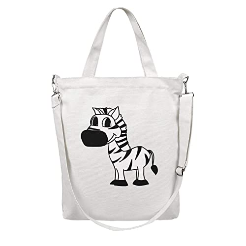 CAN BE PERSONALISED TOO!* Zebra  *HANDMADE Tote Bag