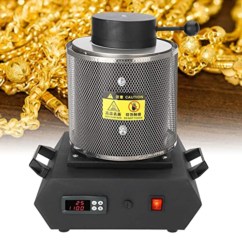Furnace Refining Casting Gold Silver Copper Jewelry Making Precious Metals ProCast 2 Kg 2102/°F Automatic Gold Silver Melting 110V U.S