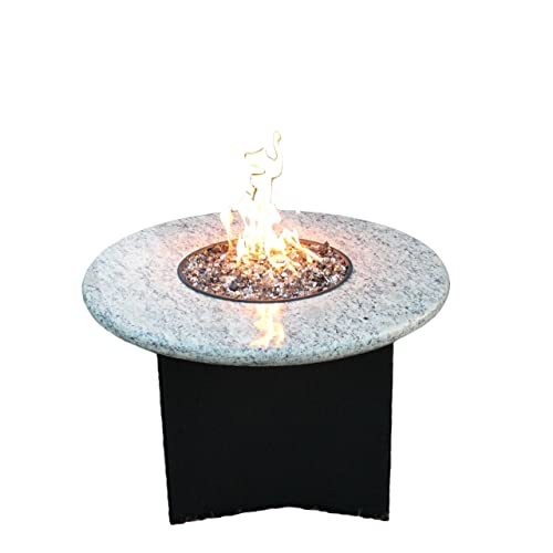 Buy Oriflamme Outdoor Propane Fire Table 75 000 Btu Heat Output Giallo Santo 32 Round Online In Bahrain B07ftwmbys