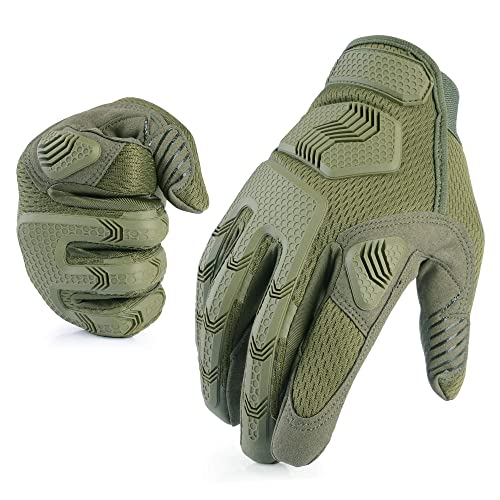 AXBXCX Camouflage Military Rubber Knuckle Full Finger Protective Tactical Gloves for Motorcycles Hunting | Buy Products Online with Ubuy Bahrain in Affordable Prices. B07R3GMX6P