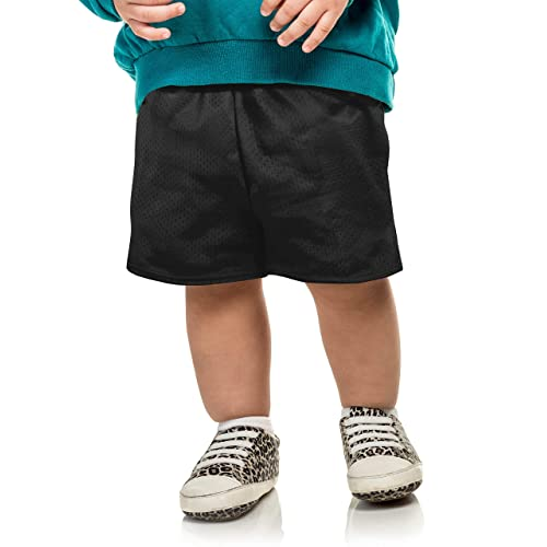 Ma Croix Essentials Kids Mesh Shorts PE School Basketball Elastic Waist Band Athletic Sports