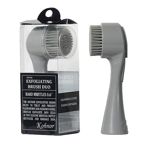 Kohnor Kode Hard Bristles Exfoliating Brush To Treat And Prevent