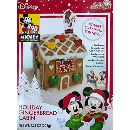 Frozen II Holiday Ice Castle Gingerbread Cookie Kit 24.5OZ Crafty Cooking Kits