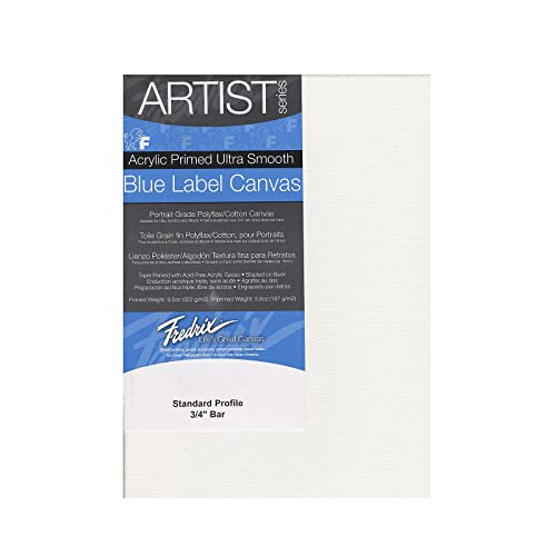 22 by 28-Inch Fredrix 5610 Ultra Smooth Stretched Canvas