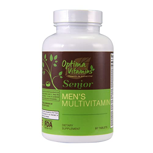 Buy فيتامينات Optima كبار السن الرجال متعدد فيتامين 60 أقراص أفضل متعدد الفيتامينات لكبار السن من الرجال فوق 50 زائد Online In Bahrain B07c89prmx