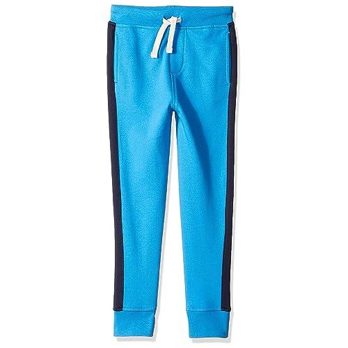 Brand LOOK by crewcuts Boys Side Stripe Sweatpant