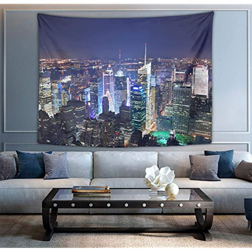 Buy Hippie Hippy Bedding Tapestry New York City Skyline Print Queen Tapestry Wall Hanging Throw Tapestry For Living Room Dorm Accessories Mandala Meditation Picnic Dorm Tapestry Online In Bahrain B083zn72sf