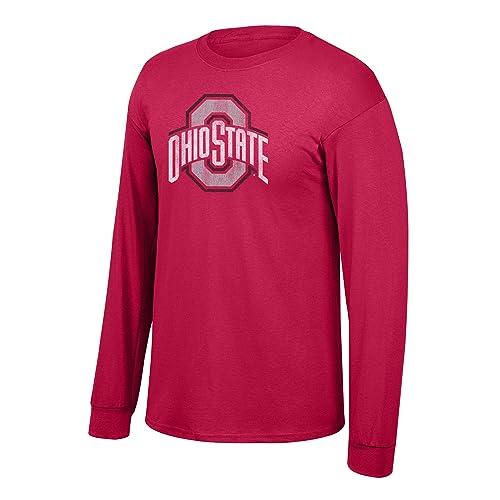 Elite Fan Shop Fan Favorite Team Color Long Sleeve Vintage Tee Shirt