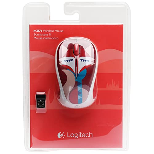 13246eba46c Buy Logitech Wireless Mouse m317 with Unifying Receiver Felicity Fox ...