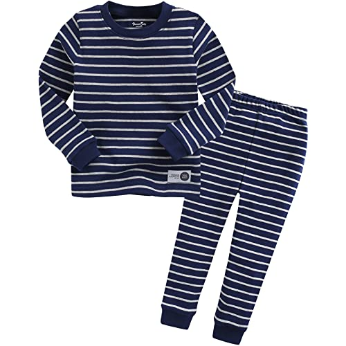 VAENAIT BABY 12M-7T Kids Little Boys Girls Unisex Toddler Colorful Stripe//Simple Sleepwear Pajama 2pcs Set