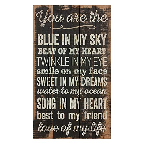 Buy P Graham Dunn You Are The Love Of My Life Distressed Design 24 X 14 Wood Pallet Wall Art Sign Plaque Online In Bahrain B00ueb34da