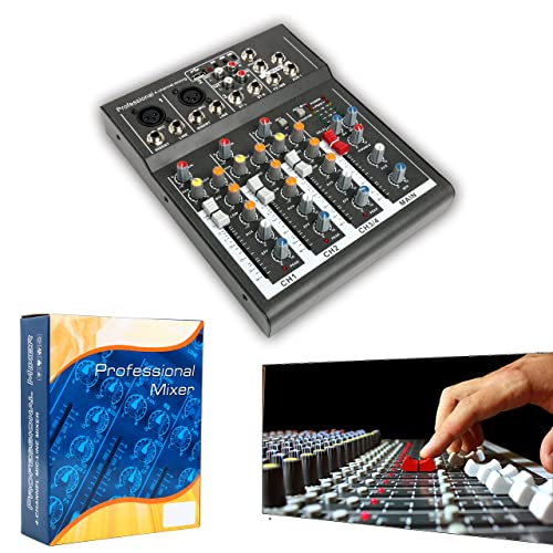 Videonics Sound Effects Mixer Digital Audio Video Editor Console Board Add Sounds and Effects