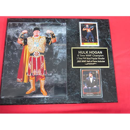 Randy Macho Man Savage WWF Collector Plaque w//8x10 Color Photo
