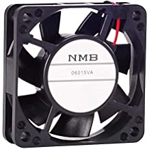 s 1 item NMB TECHNOLOGIES 2412PS-12W-B30-A00 60 x 30 mm 115 VAC 2600 RPM 9.1 CFM Plastic Impeller Ball Bearing AC Axial Fan