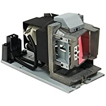 Projector Lamp Assembly with Genuine Original Osram P-VIP Bulb Inside. D862 Vivitek Projector Lamp Replacement