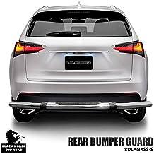 Bumper Guard Rear Bumper Guard Black Horse Off Road 8D080616A Black finish may vary