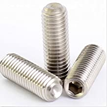 M10-1.5 Metric Socket Set Screws Cup Point A2 Stainless Steel M10-1.5 x 20M Qty 100