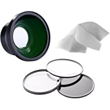 Made by Optics Nwv Direct Microfiber Cleaning Cloth. 58mm Nikon D90 High Grade Multi-Coated 3 Piece Lens Filter Kit Multi-Threaded